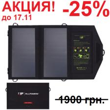 Портативная солнечная батарея Allpowers 14 Watt