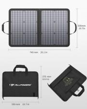 Портативная солнечная батарея для ноутбука Allpowers 50 Watt ZIP