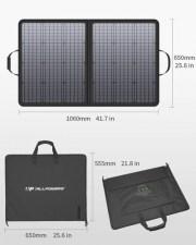 Портативная солнечная батарея для ноутбука Allpowers 100 Watt ZIP