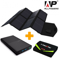 Солнечный зарядный комплект для ноутбука