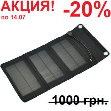 Солнечное зарядное устройство SP 5 Watt (black)
