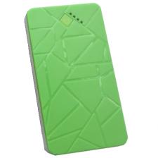 Внешний аккумулятор Weiling 7000 mAh (green)