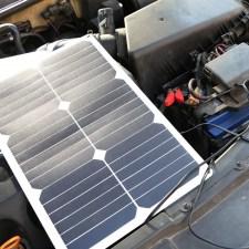 Солнечная зарядка Allpowers 18 Watt для автомобильного АКБ