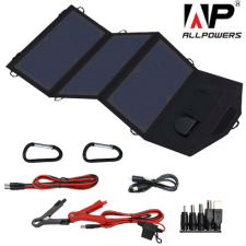 Солнечное зарядное устройство Allpowers 21 Watt (USB+DC 9-18V)