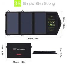Солнечное зарядное устройство Allpowers 21 Watt (2 USB)