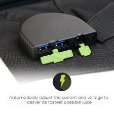 Портативная солнечная батарея для ноутбука Allpowers 60 Watt