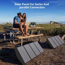 Портативная солнечная батарея для ноутбука Allpowers 140 Watt