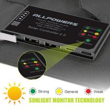 Портативная солнечная батарея Allpowers 15 Watt (6000 mAh)