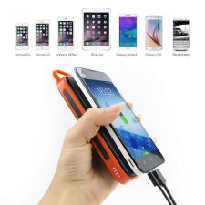 Солнечное зарядное устройство Allpowers 15000 orange