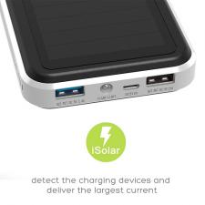 Солнечное зарядное устройство Allpowers 15000 silver
