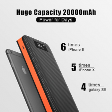 Внешний аккумулятор Allpowers 20000 mAh (orange)