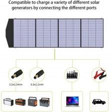 Портативная солнечная батарея для ноутбука Allpowers 200 Watt