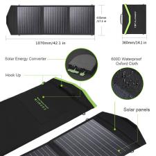 Портативная солнечная батарея Allpowers 60 Watt