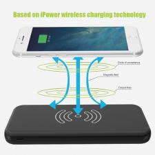 Внешний аккумулятор Allpowers 8000 mAh Qi Wireless