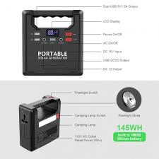 Портативное зарядное устройство X-DRAGON 39000 mAh (145 Wh) с розеткой