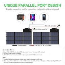 Портативная солнечная батарея Allpowers 70 Watt