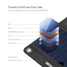 Солнечное зарядное устройство  BlitzWolf 28 Watt