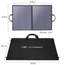 Солнечное зарядное устройство для ноутбука Allpowers 100 Watt ETFE