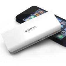 Внешний аккумулятор Romoss Sense 4 10400 mAh (white)
