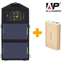Солнечный зарядный комплект для туриста