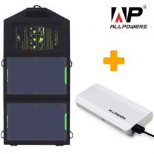 Портативное зарядное устройство для туриста