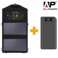 Солнечный зарядный комплект для путешественника