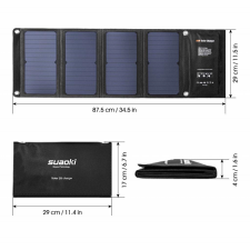 Солнечное зарядное устройство Suaoki 28 Watt