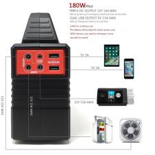 Портативное зарядное устройство X-DRAGON 40800 mAh (150 Wh) с розеткой