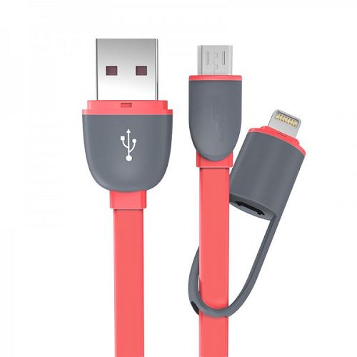 Кабель Lightning / micro USB to USB (трансформер)